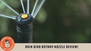 Rain Bird® Rotary Nozzle Review!