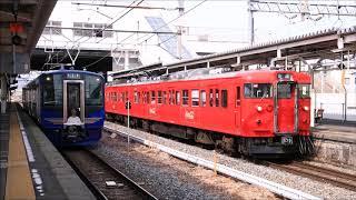 しなの鉄道SR1系S101編成が試運転で篠ノ井駅へ