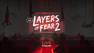 Layers of Fear 2  SHN Fam Chill N Chat  Live Playthrough No Commentary Part 2