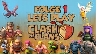 """[Folge 1. """"Der erste Schritt zur Weltherrschaft""""] Let´s Play - Clash of Clans [Deutsch/German]"""