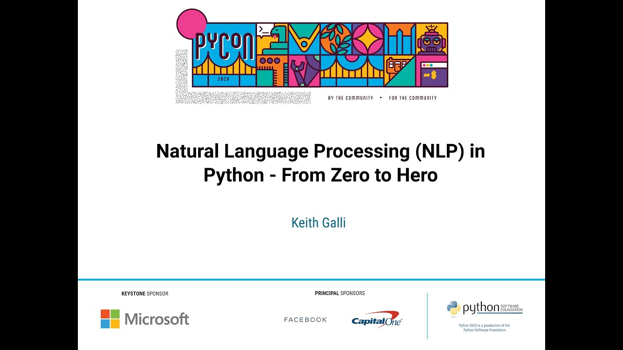 Image from Natural Language Processing (NLP) in Python - From Zero to Hero