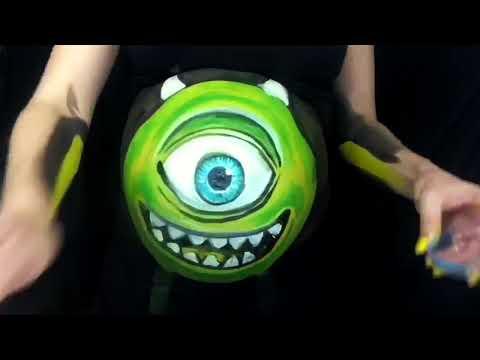 Monster's Inc. Mike Wazowski Body Paint