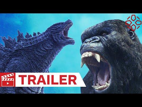 youtube filmek - Godzilla Kong ellen - magyar előzetes #1