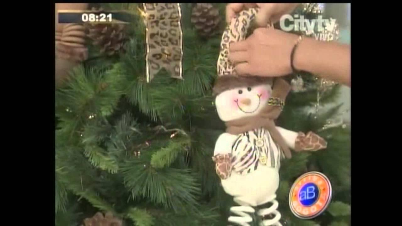 Decorador de arboles de navidad 187 home design 2017 - Elideco La Moda Animal Print Lleg A Los Rboles De Navidad Arriba Bogot