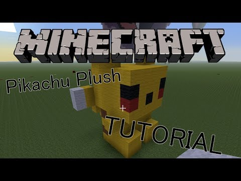 Minecraft Tutorial: How To Make Pikachu Plush