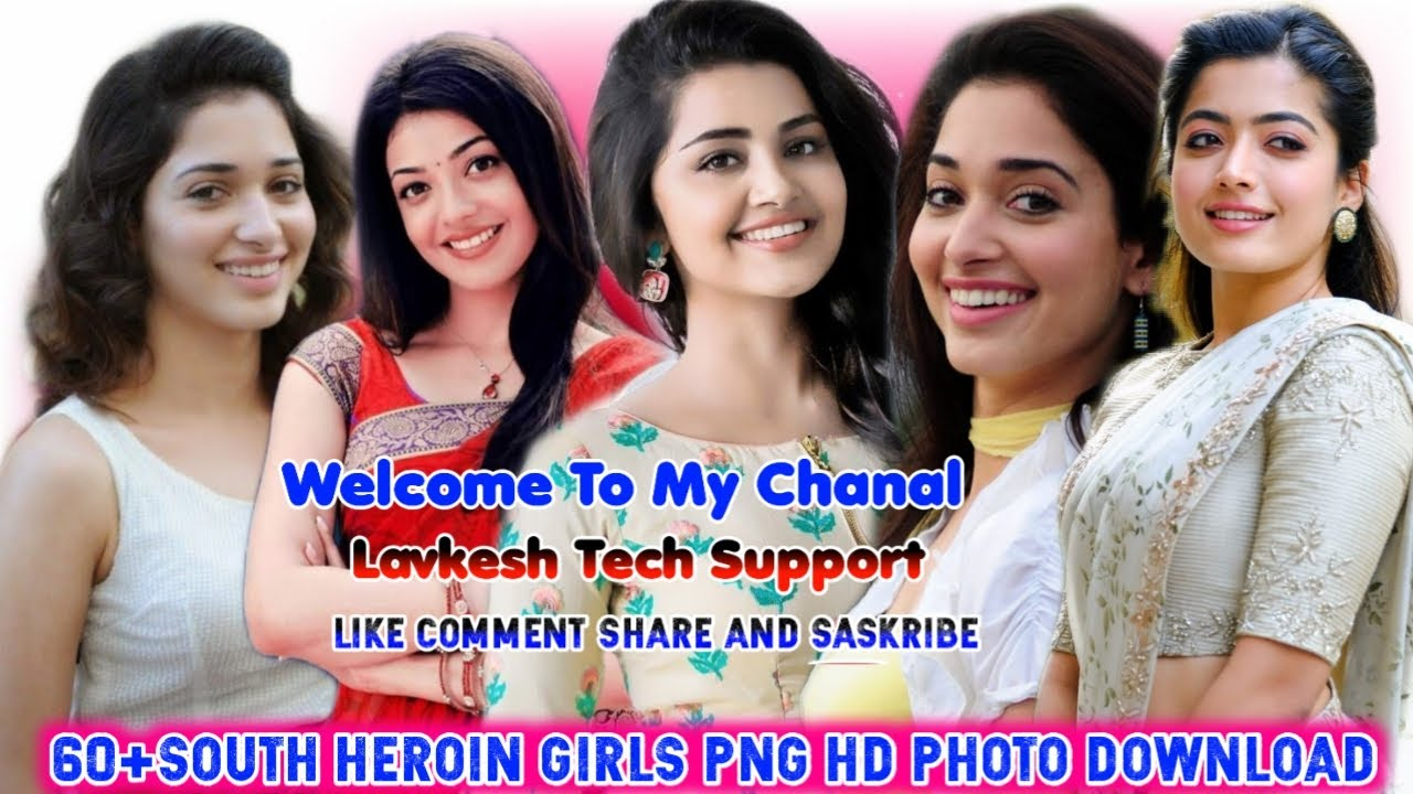 South Heroine Png South Actress Png South Heroin Picture South Heroine Png Photo South Heroi Youtube