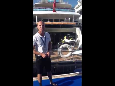Yachting Pages testimonial from M/Y Let It Be during Monaco Yacht Show 2014
