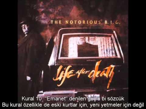 The Notorious B.I.G. - Ten Crack Commandments (Türkçe Altyazılı)