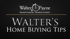 Walter's Home Buying Tips- How to eliminate PMI (Private Mortgage Insurance) with John Schutze