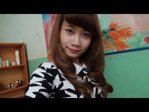 Hairstyles - Cách Tự Uốn Tạo Dáng Đuôi Tóc Xoăn Hàn Quốc