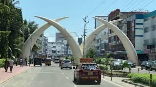 Kły słonia - symbol Mombasy - Kenia - Afryka