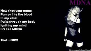 Madonna I 39 m Addicted Lyrics on Screen.mp3