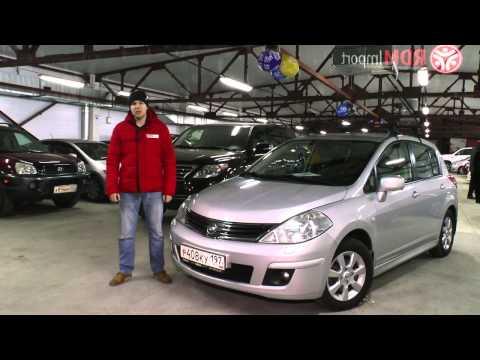 Характеристики и стоимость Nissan Tiida 2010 год цены на машины в Новосибирске