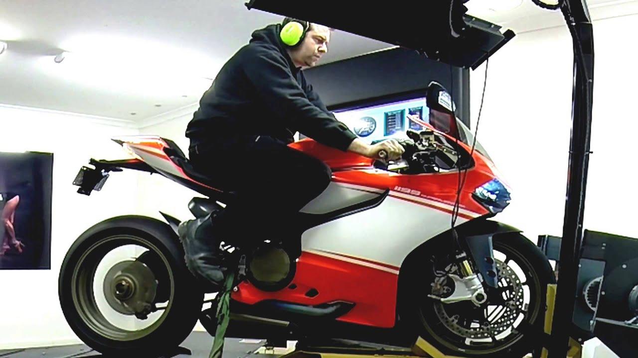 Ducati  Superleggera Dyno
