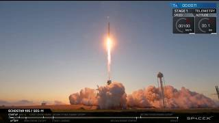 SpaceX Falcon 9 / Echostar-105 / SES-11 Launch Webcast