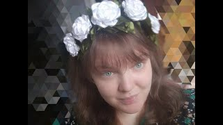 Венок на голову своими руками//DIY wreath on the head//IRENkaKoval4uck