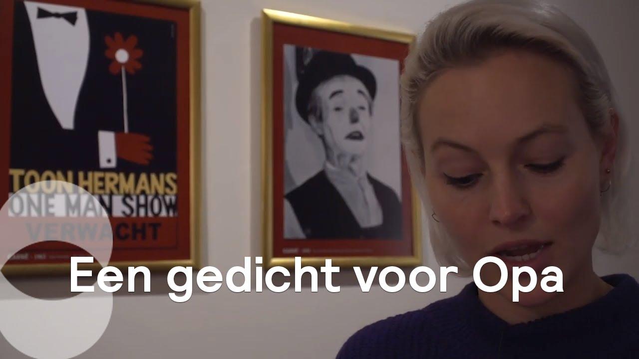 Betere Githa eert haar opa Toon Hermans | Omkijken - YouTube WD-47