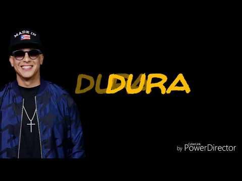 DURA -Daddy Yankee ( EASY Lyrics Video)