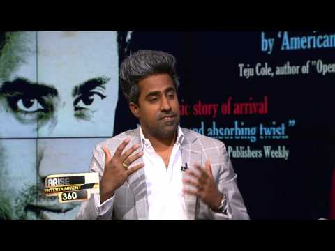 Author Anand Giridharadas promoting his new book