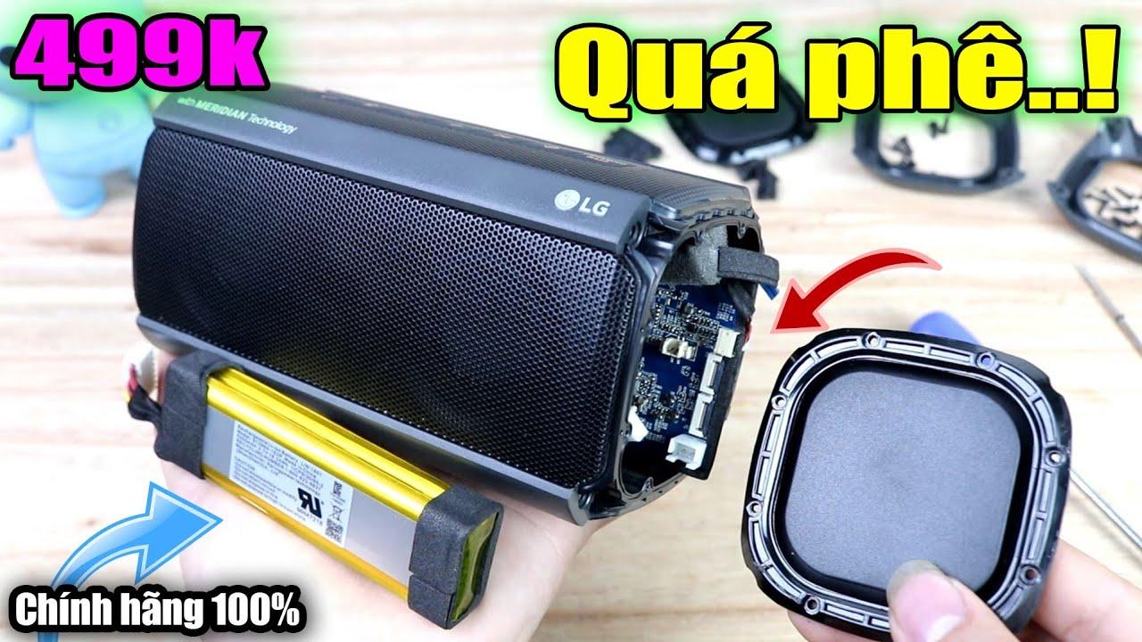 Download Bung Loa Bluetooth LG XBOOM PK3 ra xem bên trong - Trời Ơi Nội Thất Quá Phê Luôn