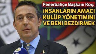 Ali Koç Divan Kurulu Konuşması: