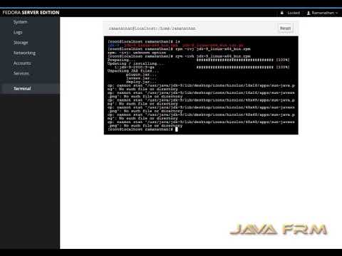 Java 9 (Oracle JDK 9), How to install in Fedora Server 26 |Java SE 9| JRE 9