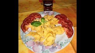 Eier mit Chili Pulver Rezept/Jaja sa ljutom paprikom recept