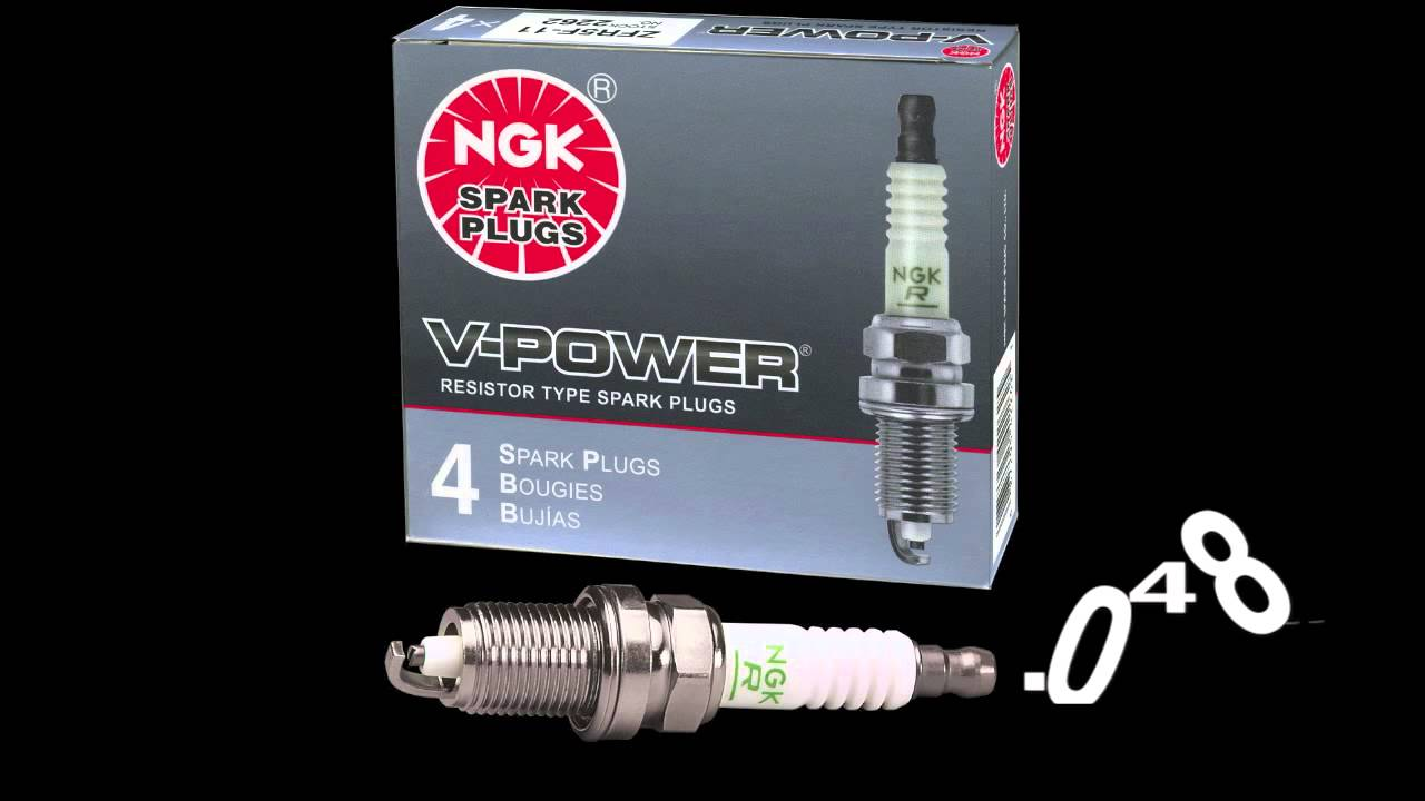 hight resolution of spark plug gap opening closing ngk spark plugs tech video