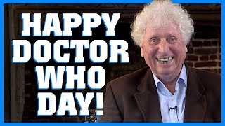 Happy Doctor Who Day From Tom Baker! - Doctor Who