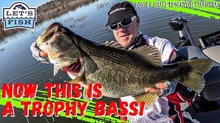 I caught a TROPHY BASS Let s Fish 9 2021 SouthWEST