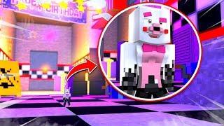 Minecraft Fnaf Daycare: Mangle Shrunk?! (Minecraft Roleplay)