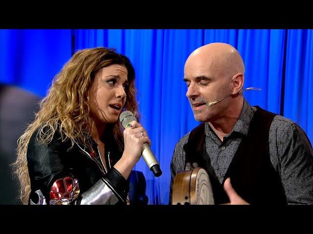 Luar- Dúas voces marabillosas! Miriam Rodríguez e Xabier Díaz atrévense a cantar xuntos!