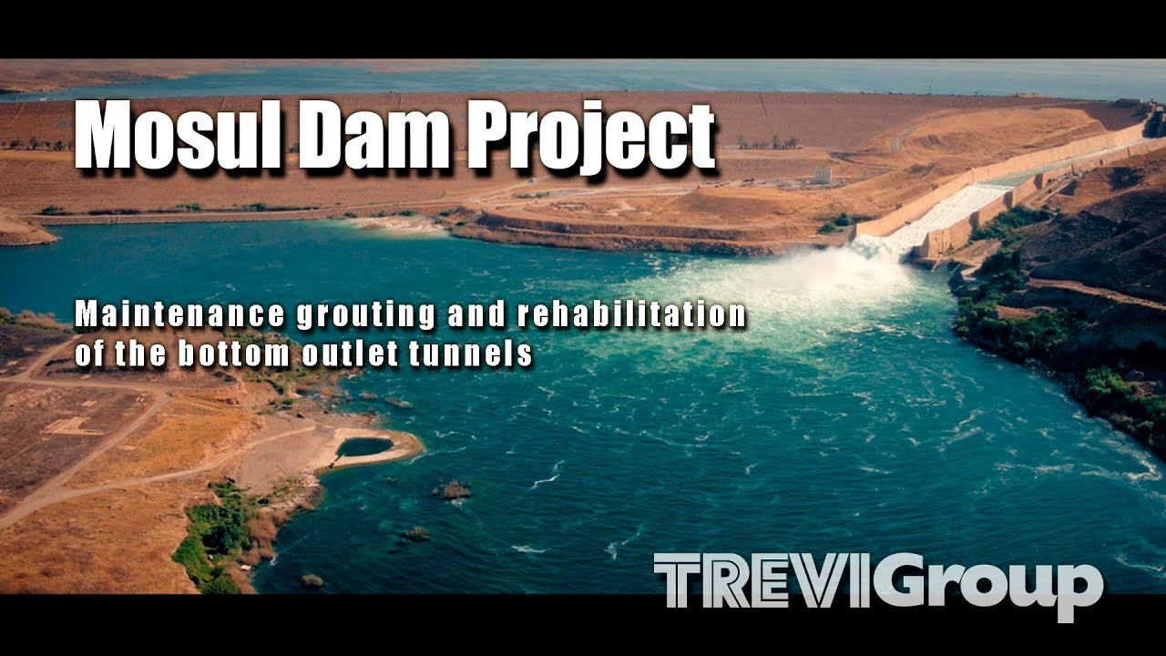 Mosul Dam Project - Maintenance grouting and rehabilitation of the bottom outlet tunnels