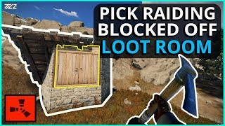 Soft-Side RAIDING A Sealed Off Loot Room! Rust Solo Survival Gameplay