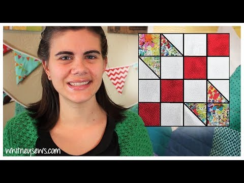 Road to Oklahoma Block | Sampler Sew Along | Whitney Sews