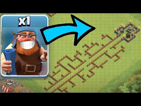 "BUILDER MASTER MAZE!!! ""Clash Of Clans"" CAN HE MAKE IT?!?"