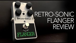 Retro-Sonic Flanger review