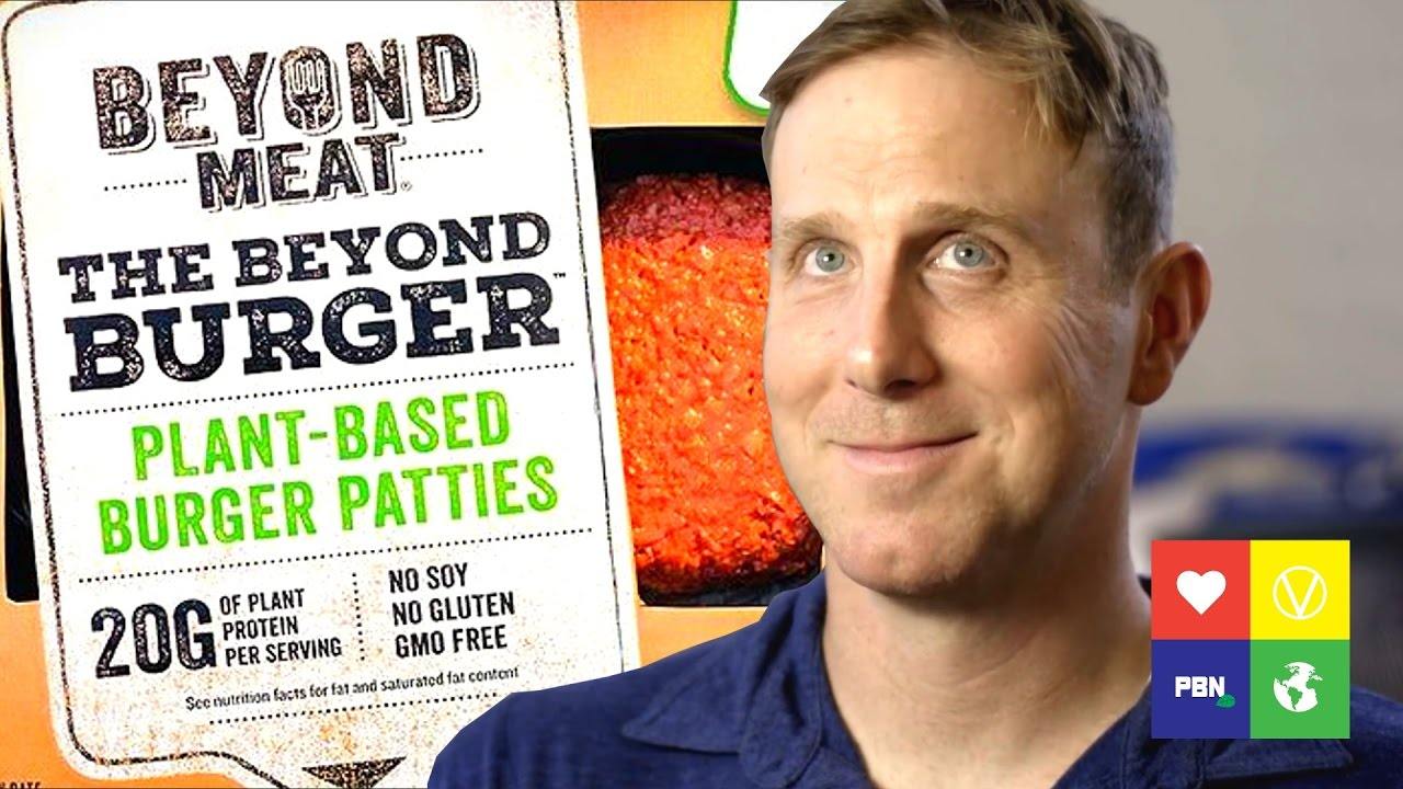 BUILDING MEAT FROM PLANTS w/BEYOND MEAT'S ETHAN BROWN