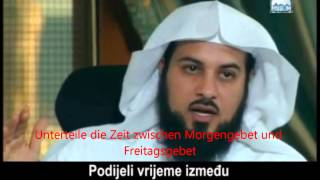 Wann kommen wir zum Freitagsgebet ? - Sheikh Dr. Muhammad Al-Arifi