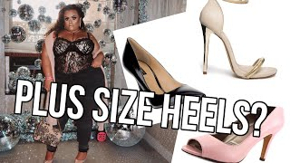 PLUS SIZE SHOES HAUL! WIDE WIDTH SHOES! {GABRIELLAGLAMOUR}