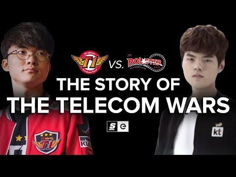 The Story of SK Telecom vs. KT Rolster: The Telecom Wars