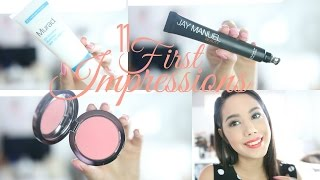 9 FIRST IMPRESSIONS! Hits & Misses Ft Boxycharm May | 2016 | BECKYMORFIN