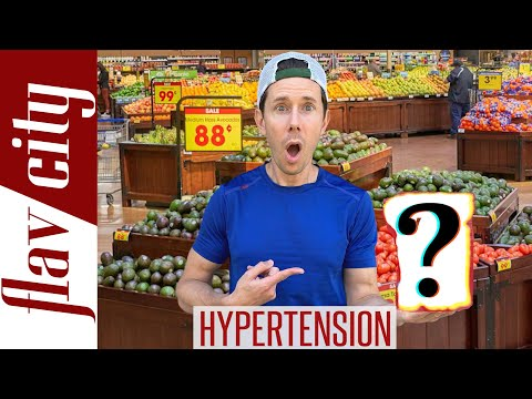 How To LOWER High Blood Pressure With Food...And What To Avoid!
