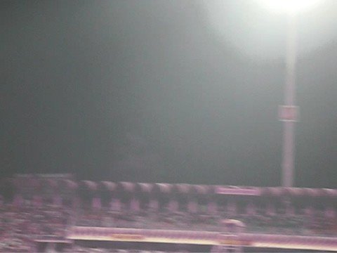 Final 20-20 Cricket Tournament Gaddafi Stadium at Night Song 1, 8 Oct 2008 Lahore Pakistan