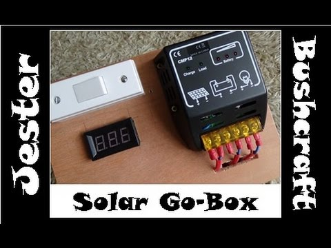 Solar Go-Box For Camping