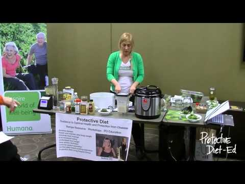 Mushroom Soup and House Dressing Cooking Demo Humana Live Cooking Class