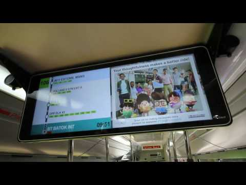 Singapore Bus Announcements: LTA's Passenger Information Display System (PIDS) on Trial