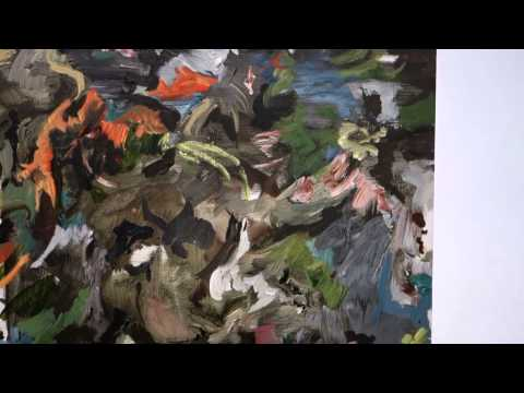 Cecily Brown and Roger Brown at MACCARONE