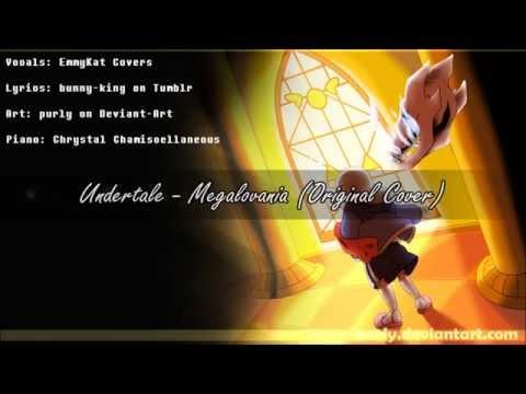 Megalovania | Undertale Cover (EmmyKat Voices w/ original lyrics)