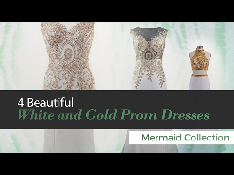 4-beautiful-white-and-gold-prom-dresses-mermaid-collection
